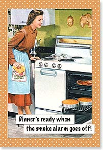 Magnet - Dinner Time! | Postmark Press Inc. | 25991 | Leanin' Tree