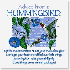 Magnet - Staff Pick - Advice from a Hummingbird | Your True Nature&amp;reg; | 26323 | Leanin' Tree