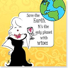 Magnet - Save the Earth... | Working Girls Design, Inc. | 26440 | Leanin' Tree