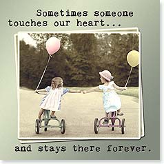 Magnet - Sometimes someone touches our heart... | Betsy Cameron | 26442 | Leanin' Tree