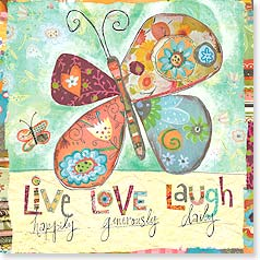 Magnet - Live Laugh Love | Lori Siebert | 26445 | Leanin' Tree