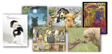 Boxed Note Assortments - Cats and Dogs - 28262 | Leanin' Tree