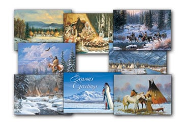 Native American - Christmas Card Value Pack | Native American  - 28410 | Leanin' Tree