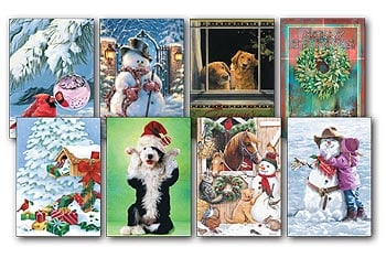 Christmas Card Value Pack - Best Variety - 28430 | Leanin' Tree