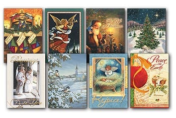 Christmas Card Value Pack - Heavenly Holidays - 28432 | Leanin' Tree