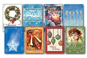 Christmas Card Value Pack - Season's Greetings - 28433 | Leanin' Tree