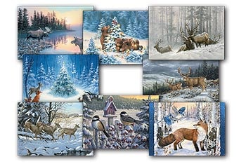 Christmas Card Value Pack - Wintery Wonderland - 28434 | Leanin' Tree