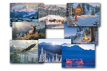 Christmas Card Value Pack - Christmas in the Mountains - 28435 | Leanin' Tree