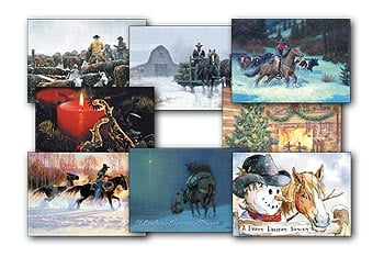 Christmas Card Value Pack - Cowboy Christmas - 28436 | Leanin' Tree