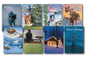 Christmas Card Value Pack - Best of the West - 28437 | Leanin' Tree