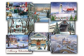 Christmas Card Value Pack - American Heritage - 28438 | Leanin' Tree