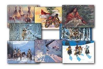 Christmas Card Value Pack - Native American - 28440 | Leanin' Tree