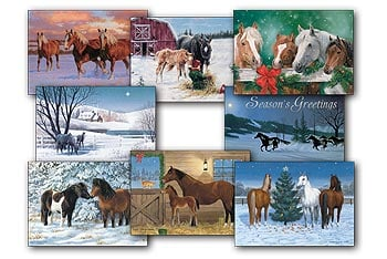 Christmas Card Value Pack - Holiday Horse - 28441 | Leanin' Tree