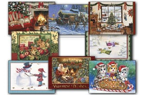 Christmas Card Value Pack - 'Heartwarming' Assortment - 28447 | Leanin' Tree
