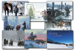 Christmas Card Value Assortment<BR/>3 each of 8 - 'Cowboy' Assortment - 28450 | Leanin' Tree