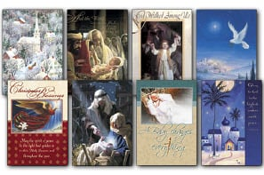 Christmas Card Value Assortment<BR/>3 each of 8 - 'Reason for Season' Assortment - 28454 | Leanin' Tree