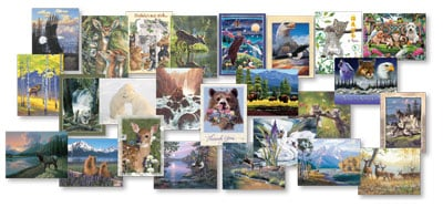 Everyday Card Value Pack - Wildlife Collection - 28658 | Leanin' Tree