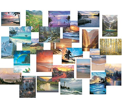 Everyday Card Value Pack<BR/>1 each of 25 designs - Sea to Shining Sea - 28664 | Leanin' Tree