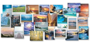 Everyday Card Value Pack<BR/>1 each of 25 designs - Sea to Shining Sea - 28668 | Leanin' Tree