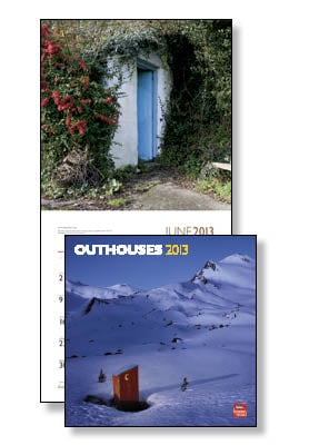 Wall Calendar - Outhouses 2013 Wall Calendar - 28806 | Leanin' Tree