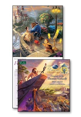 Wall Calendar - Thomas Kinkade Disney 2013 Wall Calendar - 28820 | Leanin' Tree