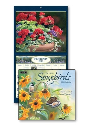Wall Calendar - Songbirds 2013 Wall Calendar - 28821 | Leanin' Tree