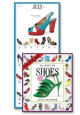 Wall Calendar - 365 Days of Shoes 2013 Wall Calendar - 28822 | Leanin' Tree
