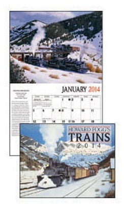 Wall Calendar - Howard Fogg's Trains 2014 Wall Calendar - 28826 | Leanin' Tree
