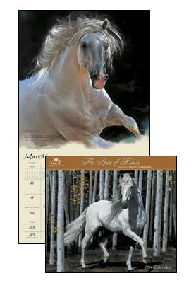 Wall Calendar - Spirit of Horses 2014 Wall Calendar - 28831 | Leanin' Tree