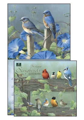 Wall Calendar - Songbirds 2014 Wall Calendar - 28840 | Leanin' Tree