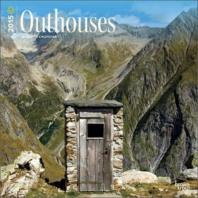 Wall Calendar - Outhouses 2015 Wall Calendar - 28847 | Leanin' Tree