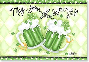 St. Patrick's Day Card - Irish you a Happy St. Patrick's Day! | LoriLynn Simms | 29289 | Leanin' Tree