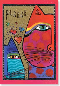 Valentine's Day Card - My heart has spoken. | Laurel Burch® | 29418 | Leanin' Tree