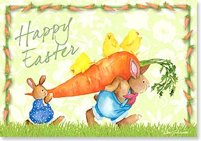 Easter Card - Hope it's BIG fun! | Barb Tourtillotte | 29438 | Leanin' Tree
