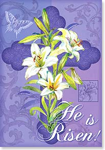Easter Card - The hope of life eternal reaffirmed with every spring. | Gail Flores | 29439 | Leanin' Tree