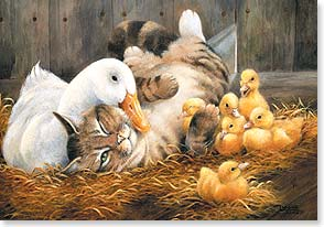 Easter Card - Hope everything about your Easter is just ducky! | Lynne Jones | 29442 | Leanin' Tree
