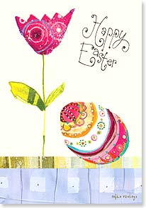 Easter Card - Hope your Easter is bright and delightful in every way! | Robbin Rawlings | 29446 | Leanin' Tree