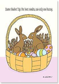 Easter Card - Happy Easter and many more! | Dare to Laugh™ | 29449 | Leanin' Tree
