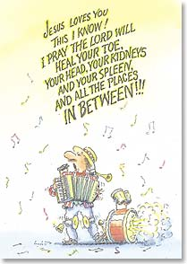 Get Well Card - Staff Pick - A Cheerful Wish That The Lord Will Heal | Norm Bendell | 29503 | Leanin' Tree