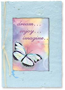 Birthday Card - dream...enjoy...imagine...celebrate! - 29573 | Leanin' Tree