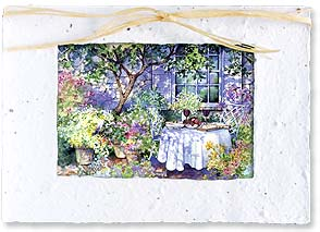 Blank Card - Garden Party | Kathleen Parr McKenna | 29593 | Leanin' Tree