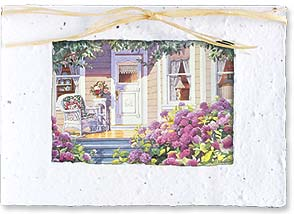 Blank Card - A Victorian Summer Day - 29645 | Leanin' Tree