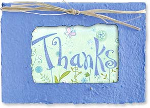 Thank You & Appreciation Card - Seed Card | Thanks | Viv Eisner | 29648 | Leanin' Tree