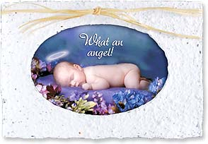 Baby Congratulations Card - What an Angel! | Valerie Tabor Smith | 29661 | Leanin' Tree