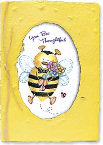 Thank You & Appreciation Card - I Bee Thankful | Debra Jordan Bryan | 29664 | Leanin' Tree