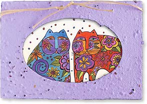 Birthday Seed Card - Friends Are Flowers | Laurel Burch&amp;reg; | 29668 | Leanin' Tree