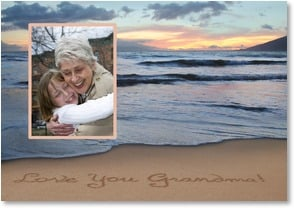 Loving Thoughts Card - God gave me the best Grandma ever! | Susan Y. Davis | 2_2000215-P | Leanin' Tree