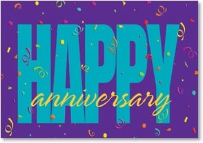 Anniversary Card - Employment - With Celebration and Thanks | LT Studio | 2_2000281-P | Leanin' Tree