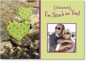 Valentine's Day Card - I'm Stuck on You! | Kristi Lindeman Beabout | 2_2000500-P | Leanin' Tree