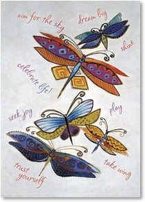 Good Luck Card - Show true colors in what lies before you | Laurel Burch™ | 2_2001148-P | Leanin' Tree